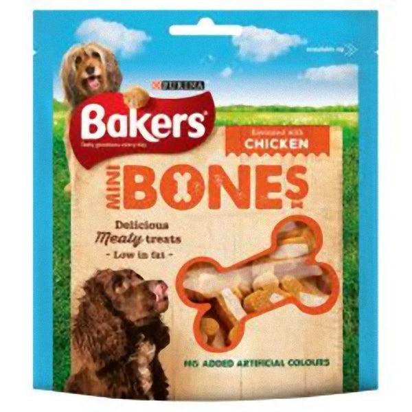 Bakers Mini Bones Chicken, 94g X 6