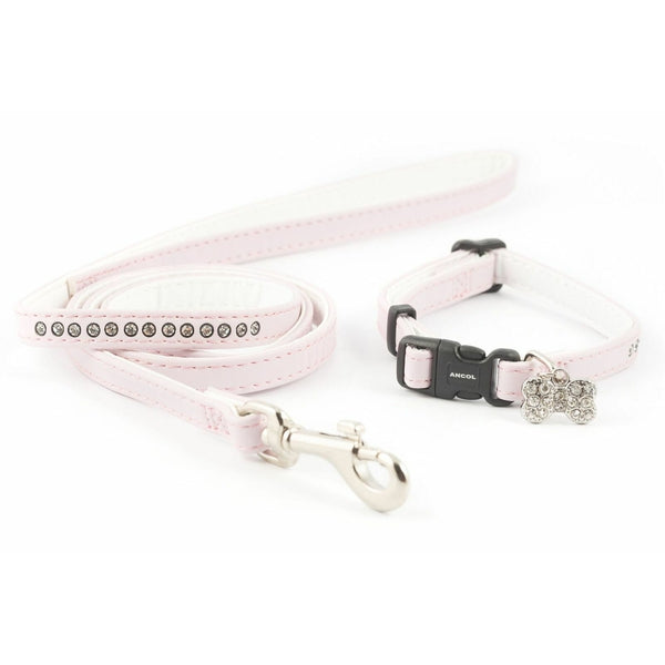 Ancol Jewelled Puppy Set Pink, 20-30cm