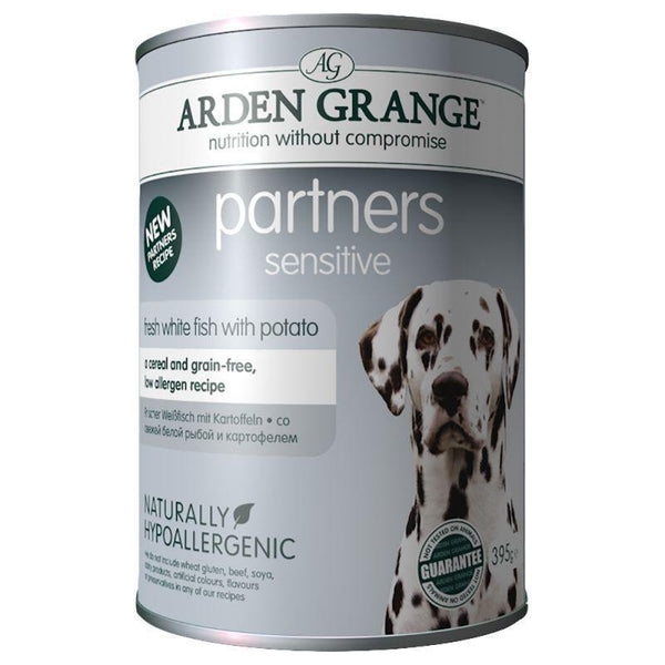 Arden Grange Dog Partners Sensitive, 6x395g X 4