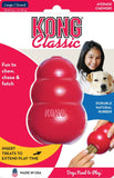 KONG Classic Red Dog and Puppy Toy Teething Chew - All Sizes