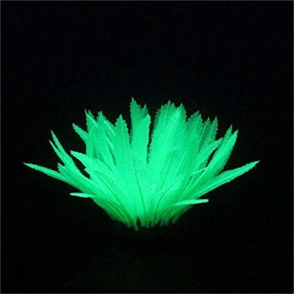 Aquarium Lumo Green Fern Plant 12.5cm