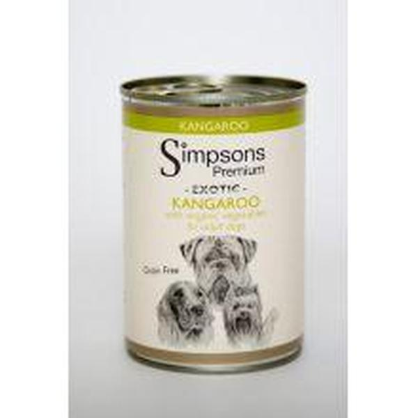 Simpsons Dog Kangeroo, 400g X 6