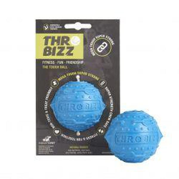 Throwbizz Tough Ball Treat, blue