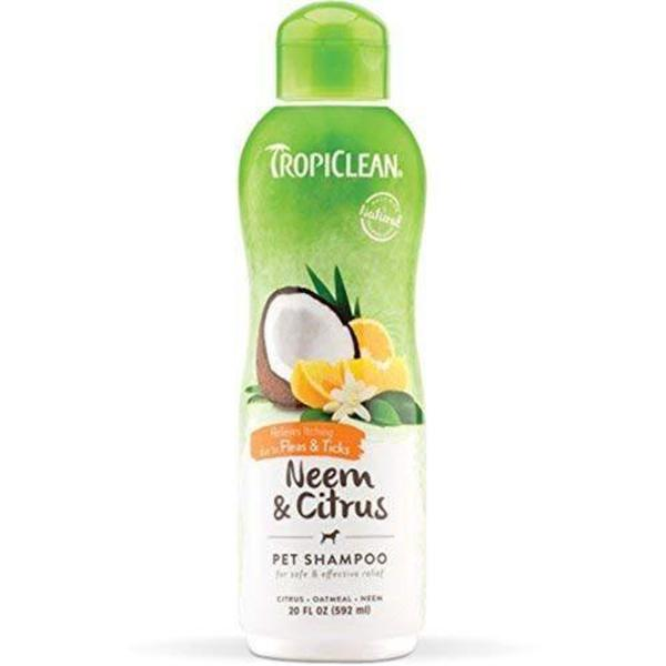 Tropiclean Optineem Flea Shampoo, 592ml