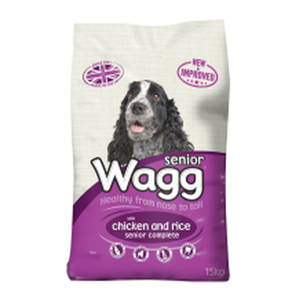 Wagg Complete Senior, 15kg