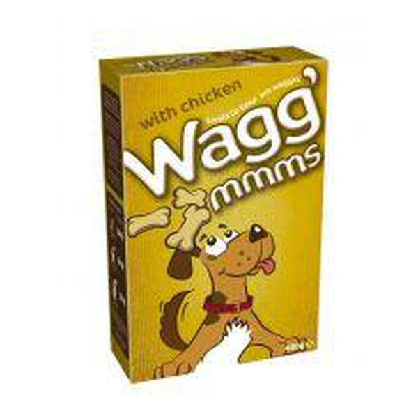 Wagg' Mmms Dog Biscuits Chicken, 5 packs of 400g X 5