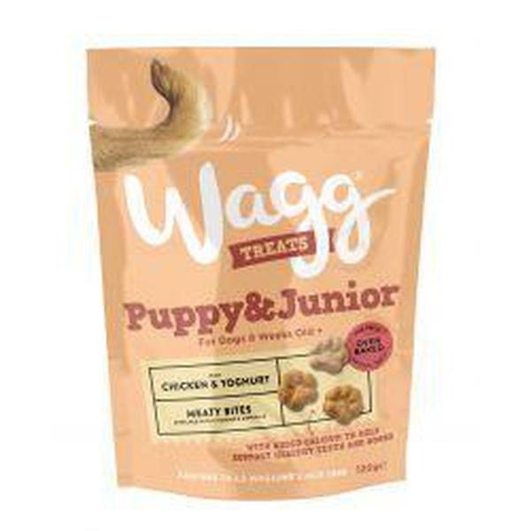 Wagg Puppy Treats, 7 packs of 120g X 7