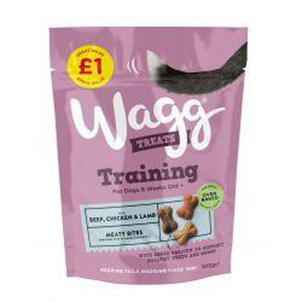 Wagg Training Treats, 8 packs of 100g X 8