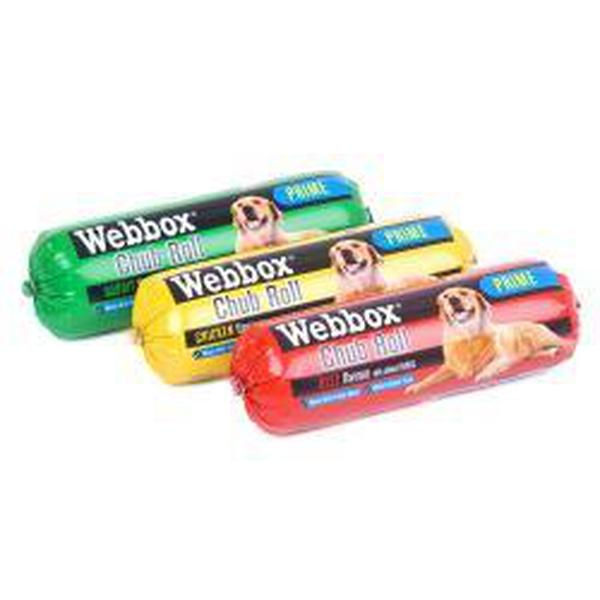 Webbox Chubs Assorted, 800g X 12