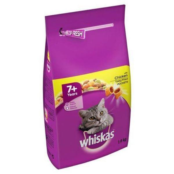 Whiskas 7+ Complete Dry with Chicken, 1.9kg