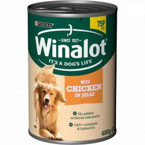 Winalot Classics Adult Chicken in Jelly, 400g X 12