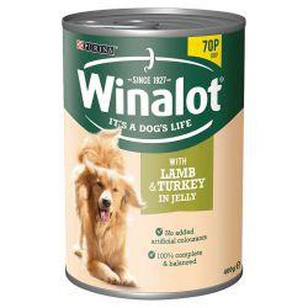 Winalot Lamb & Turkey 70p, 400g X 12