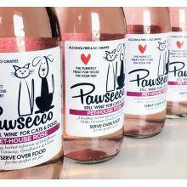 Woof & Brew Pawsecco Rose, 250ml