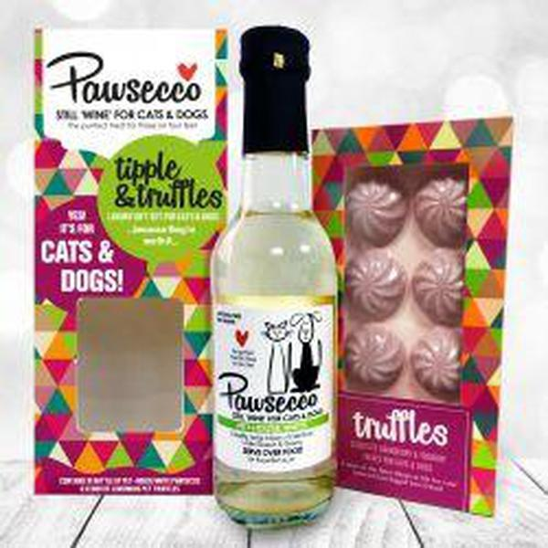 Woof & Brew Pawsecco & Truffles Gift, 250ml