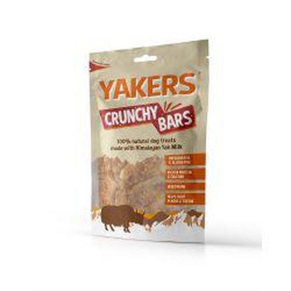 Yakers Crunchy Bars, 80g
