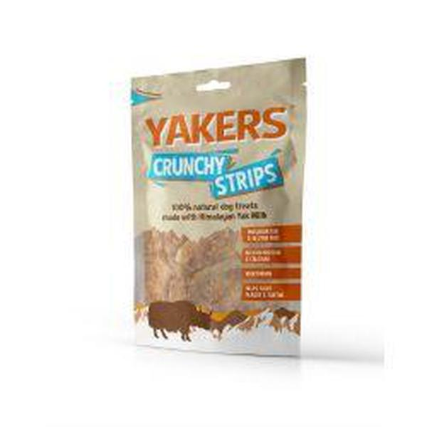 Yakers Crunchy Strips, 70g