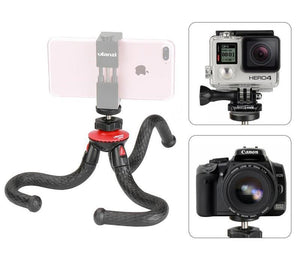 Flexible Octopus Mobile Tripod With Phone Holder