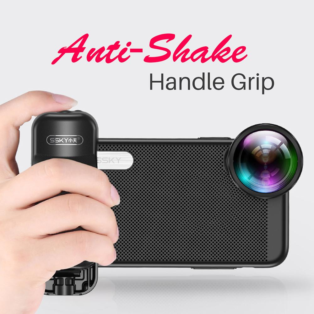 Selfie Booster Handle Grip Bluetooth Photo Stablizer