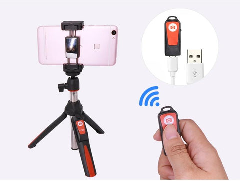The All In One Selfie Stick Tripod