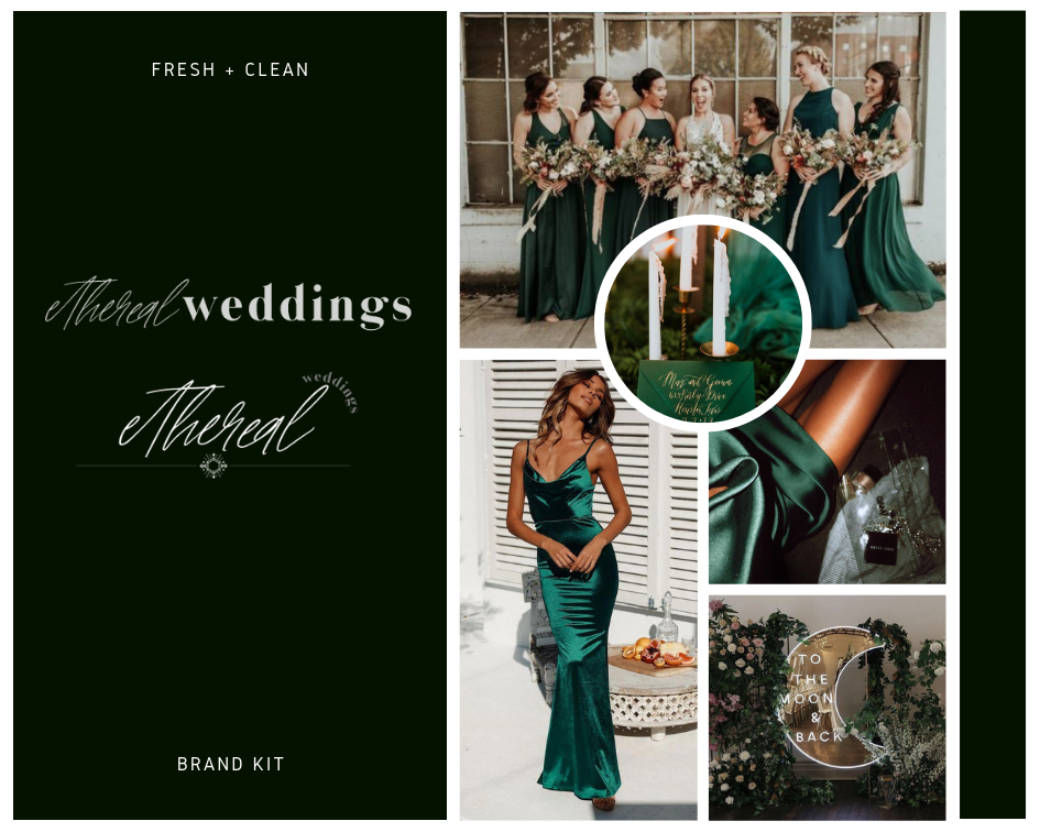 ETHEREAL WEDDINGS Logo + Design Kit