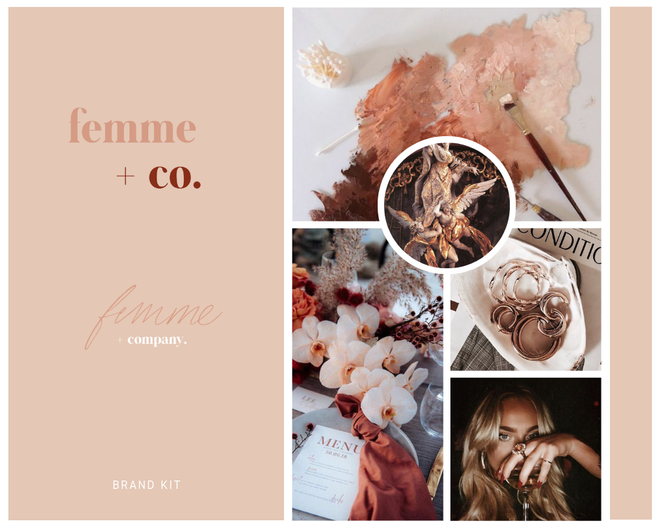 FEMME + CO Logo + Design Kit
