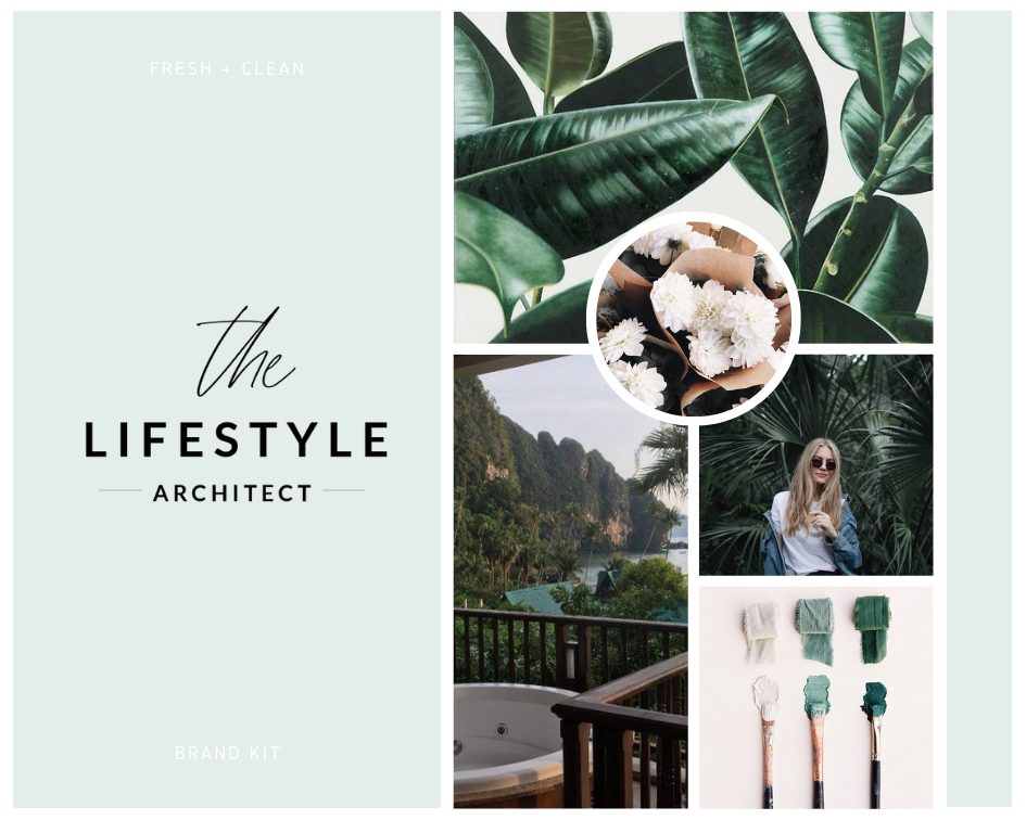 The Lifestyle Architect Logo + Design Kit