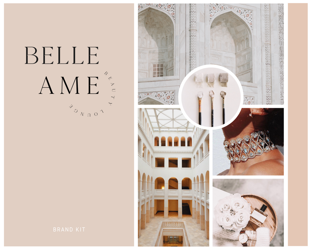 Belle Ame Logo + Design Kit