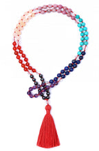 Load image into Gallery viewer, chakra-gemstone-mala-1