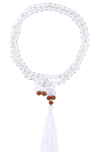 Load image into Gallery viewer, clear-quartz-gemstone-mala-1