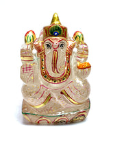 Load image into Gallery viewer, Clear Quartz Ganesha
