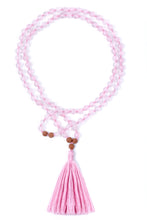 Load image into Gallery viewer, rose-quartz-gemstone-mala-1