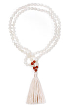 Load image into Gallery viewer, white-moonstone-gemstone-mala-1