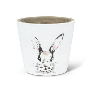 3-Wick Candle Bunny Planter