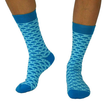 Organic Socks, Sjöström Light Blue