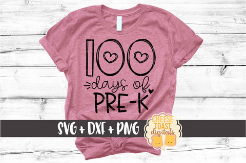 100 Days of Pre-K - Hearts