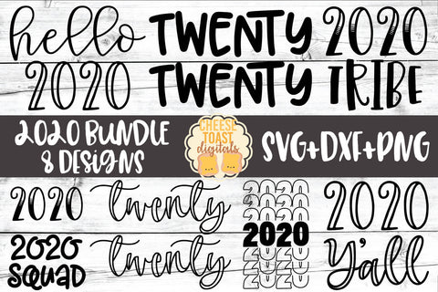 2020 New Year Bundle - 8 Designs