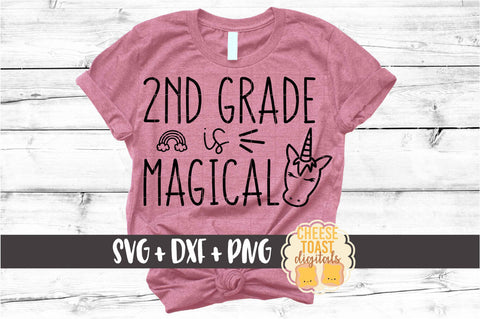 2nd Grade is Magical - Unicorn