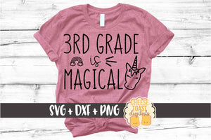 3rd Grade is Magical - Unicorn