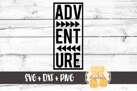 Adventure - SVG, PNG, DXF