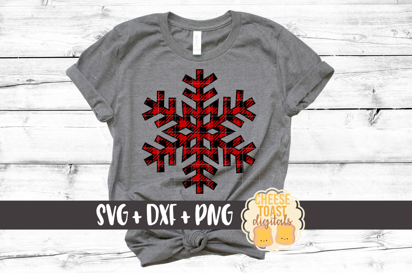 Snowflake - Buffalo Plaid