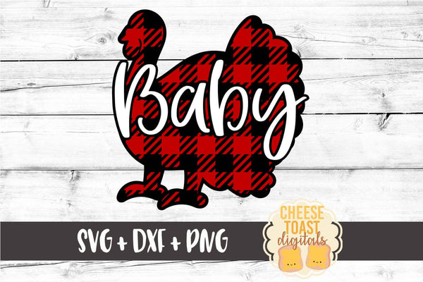 Baby Turkey - Buffalo Plaid