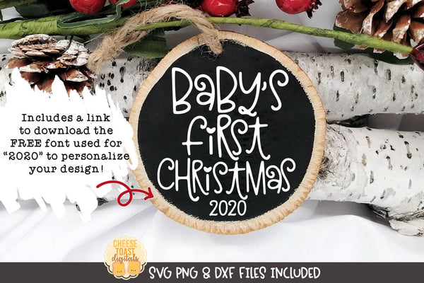 Baby's First Christmas | Christmas Ornament