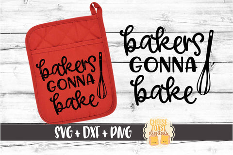 Bakers Gonna Bake - Pot Holder Design