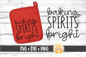 Baking Spirits Bright - Pot Holder Design