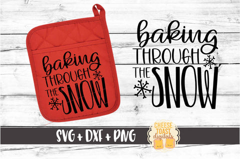 Baking Through the Snow - Pot Holder Design