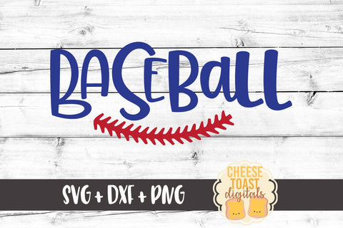Baseball with Stitch - SVG, PNG, DXF