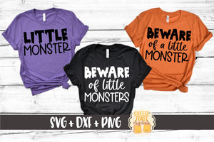 Beware Of Little Monsters | Beware Of A Little Monster | Little Monster