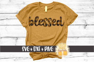 Blessed - Buffalo Plaid