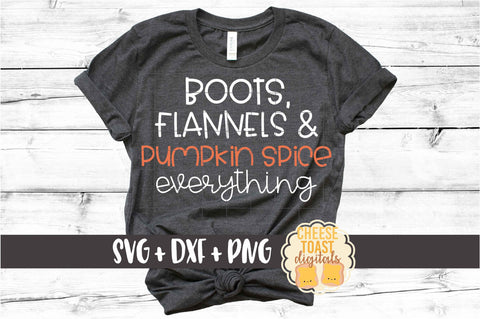 Boots Flannels and  Pumpkin Spice Everything