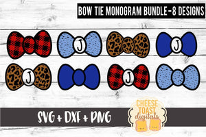 Bow Tie Monogram Bundle